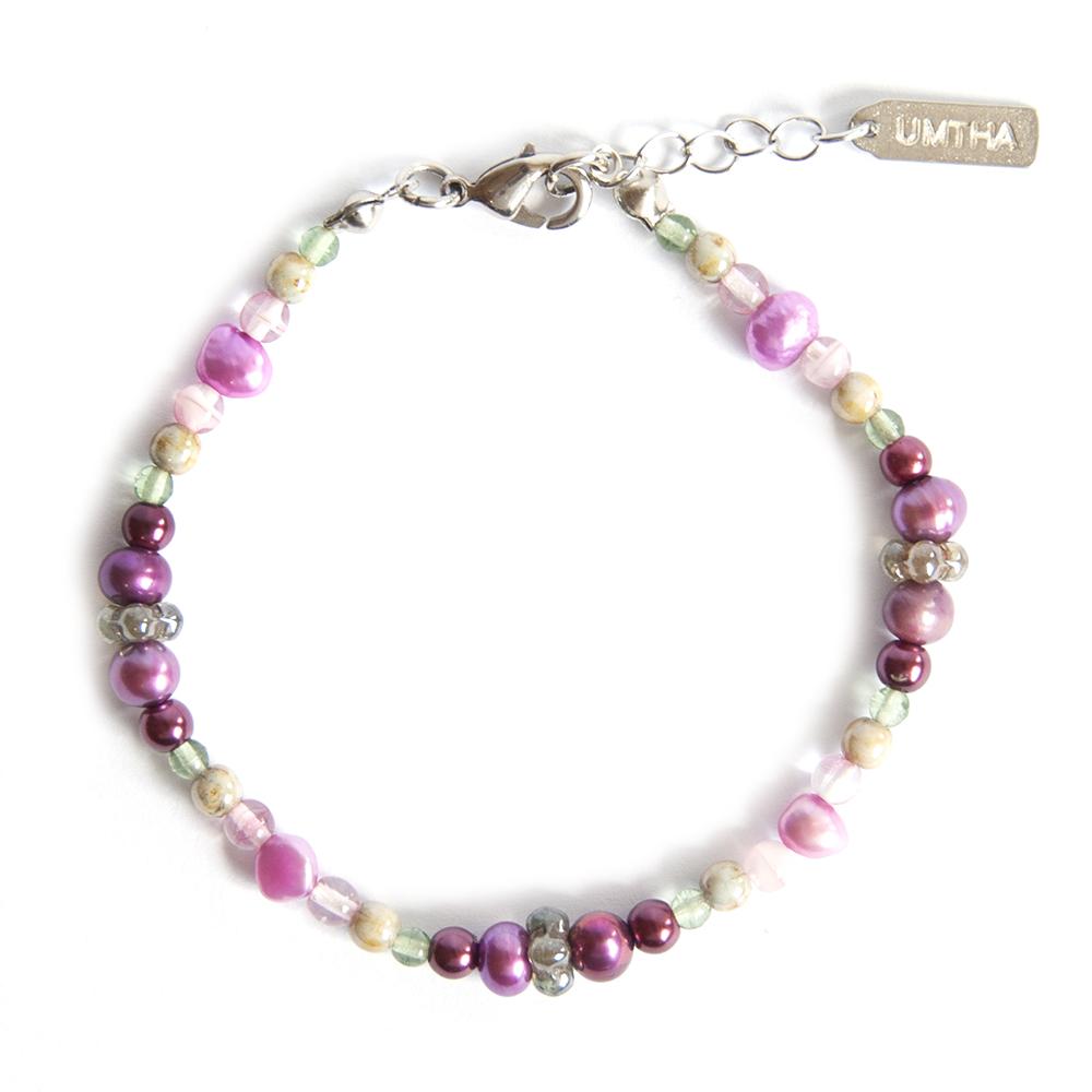 "A delightful ""Valentine"" mountain fynbos species inspired bracelet"